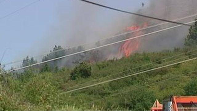 Premiers incendies de l'été dans le sud