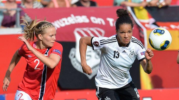 Les Norvégiennes vont retrouver l'Allemagne en finale de l'Euro-2013. (CARMEN JASPERSEN / DPA)