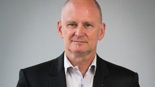 Christophe Girard, alors maire du 4e arrondissement parisien, est photographié le 5 septembre 2014 à Paris. (JOEL SAGET / AFP)