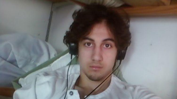 Photo deDjokhar Tsarnaev, présentée par le parquet américain lors du procès du jeune accusé des attentats de Boston, le 23 mars 2015. (REUTERS)
