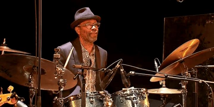 """Le batteur Sangoma Everett, à l'origine de ce Tribute to Fela Kuti"""".  (France 3 Culturebox)"""
