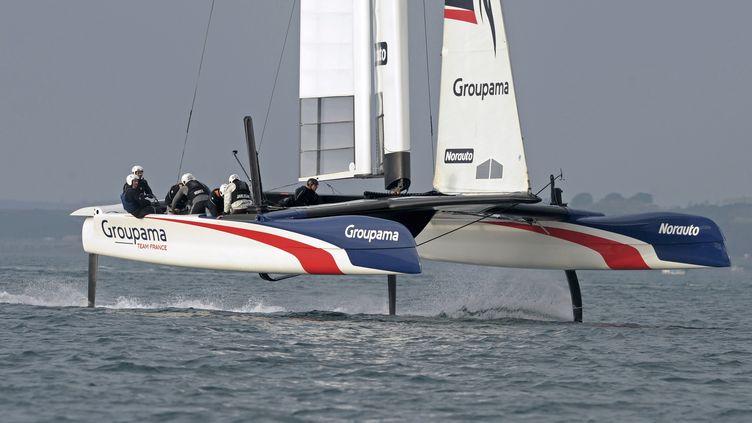 Le Groupama Team France (FRED TANNEAU / AFP)