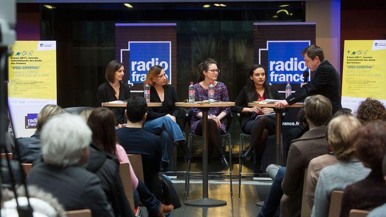 Anne Serode / Conférence journée du 8 mars à Radio France (RadioFrance/Mathieu Grenon)