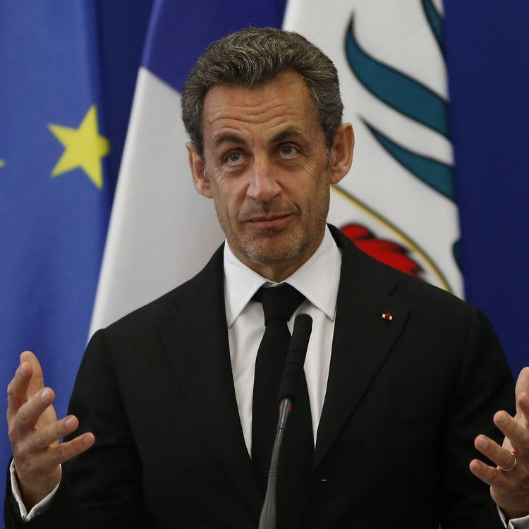 L'ancien président Nicolas Sarkozy lors d'un discours à Nice (Alpes-Maritimes), le 10 mars 2014. (VALERY HACHE / AFP)