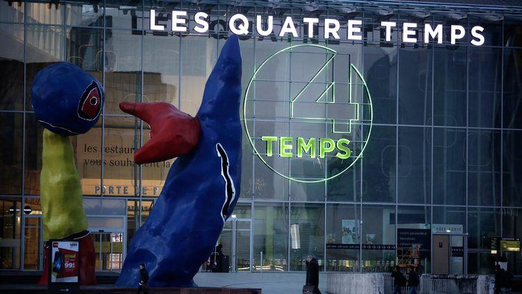 """Le centre commercial """"Les Quatre Temps"""" dans le quartier de La Défense dans les Hauts-de-Seine. (MAXPPP)"""