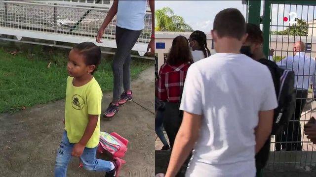 Antilles : une rentrée scolaire inédite