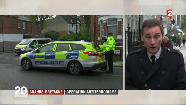 Grande-Bretagne : opération antiterrorisme à Londres