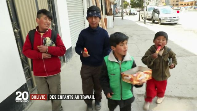 Bolivie : des enfants au travail, une réalité quotidienne