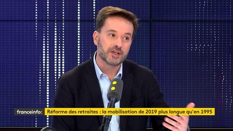 Le député des Landes, Lionel Causse, le 27 décembre 209. (FRANCEINFO / RADIO FRANCE)