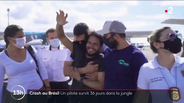 Crash au Brésil : un pilote sauvé après un mois perdu dans la jungle de l'Amazonie