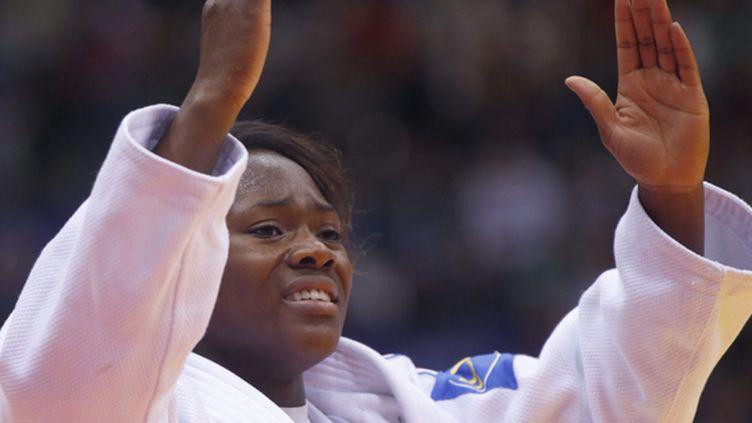 La Française Clarisse Agbegnenou, double championne d'Europe et championne du monde à 21 ans
