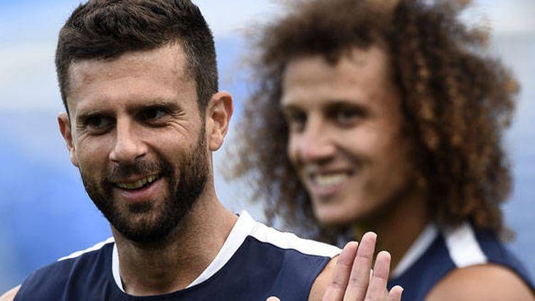 Le joueur du PSG Thiago Motta