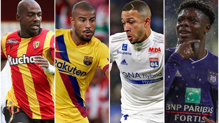 Gaël Kakuta, Rafinha, Memphis Depay, Jérémy Doku, les symboles du mercato estival 2020 de la Ligue 1