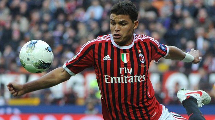 Le Brésilien de l'AC Milan Thiago Silva