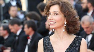 La ministre de la Culture Audrey Azoulay lors de l'ouverture du festival de Cannes, le 11 mai 2016. (VALERY HACHE / AFP)