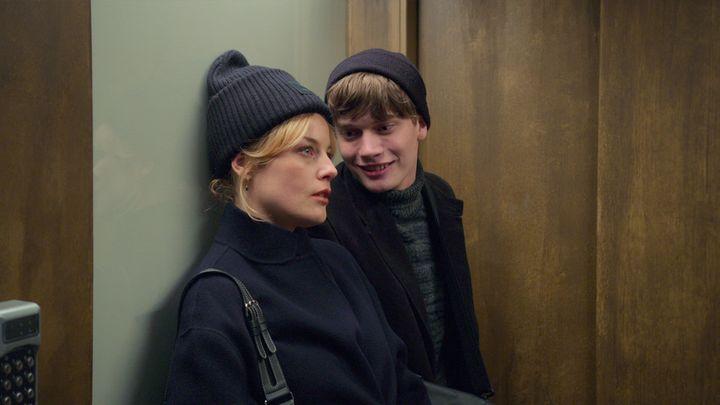 Sofie (Ida Engvoll)et Max (Björn Mosten). (NETFLIX)