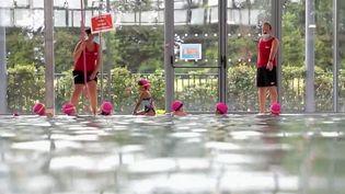 Pays de la Loire : les cours de natation redémarrent près de Nantes (France 2)