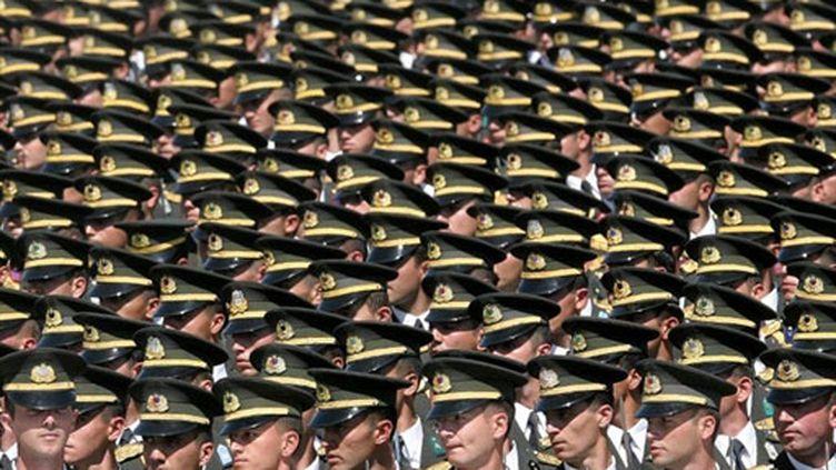 Défilé militaire à Ankara (archives, 30 août 2009) (AFP / Adem Altan)