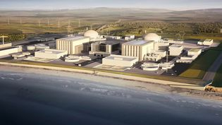 Image numérique d'Hinkley Point (HO / EDF ENGERY)