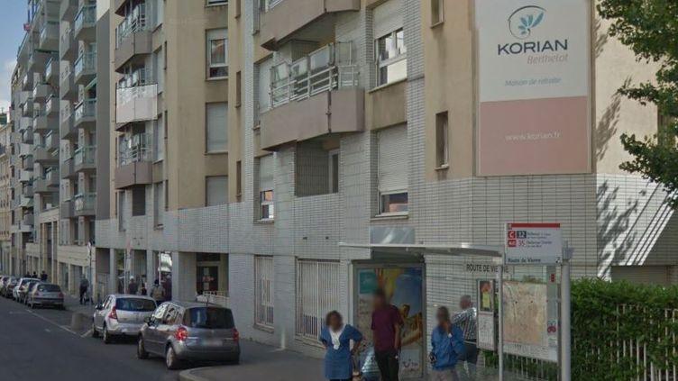 Treize résidents de lamaison de retraite Korian Berthelot (Lyon) sont morts de la grippe,a annoncé le ministère de la Santé, samedi 7 janvier 2016. (GOOGLE STREET VIEW)