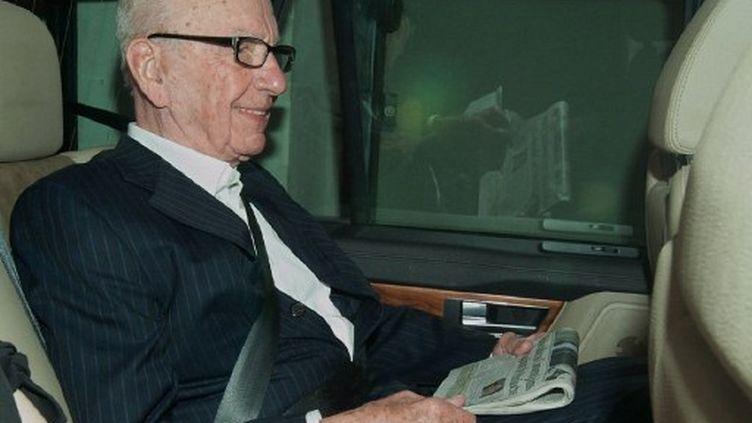 Rupert Murdoch, magnat australo-américain des médias, patron de News Corporation. (AFP - Ki Price)