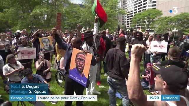 Mort de George Floyd : Derek Chauvin écope d'une lourde peine