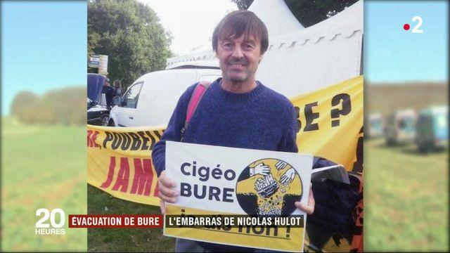 Bure : l'embarras de Nicolas Hulot sur les déchets nucléaires