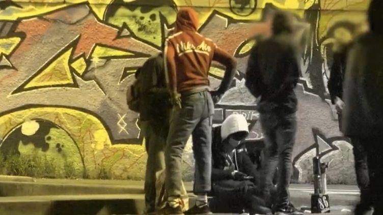Fumeurs de crack. (CAPTURE ECRAN FRANCE 2)