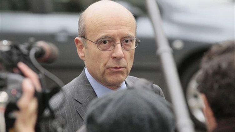Alain Juppé, mars 2011. (AFP - Jacques Demarthon)