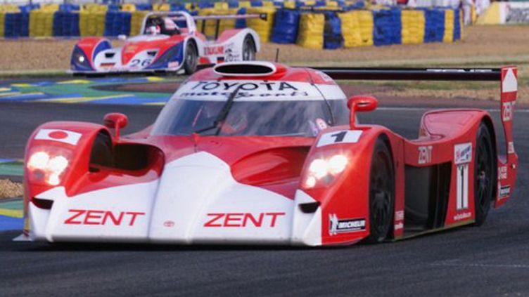 La Toyota GT-One au Mans en 1999 (MARCEL MOCHET / AFP)