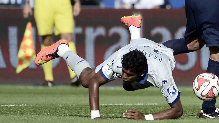 Brandao n'a pas participé aux deux derniers entraînements du SC Bastia (STEPHANE DE SAKUTIN / AFP)