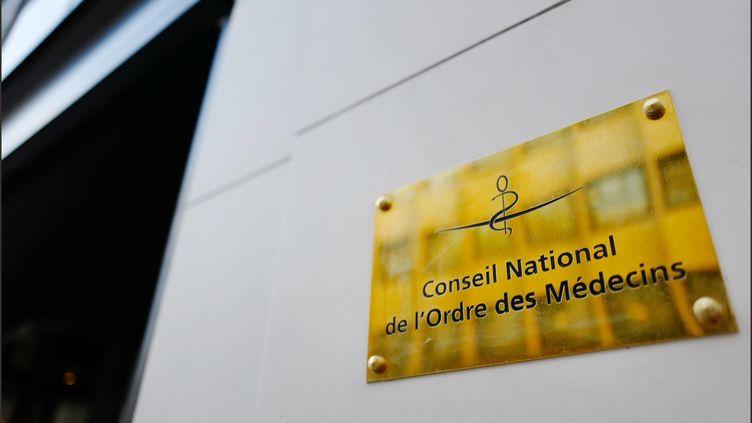 Le siège du Conseil national de l'Ordre des médecins à Paris. (LUC NOBOUT / MAXPPP)