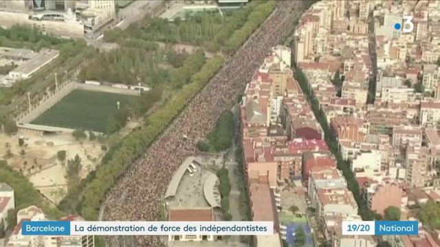 Barcelone : la démonstration de force des indépendantistes