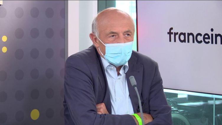 L'économiste Jean-Hervé Lorenzi(28 juin 2021). (FRANCEINFO / RADIOFRANCE)