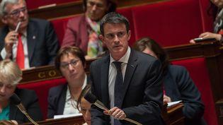 Manuel Valls devant les députés à l'Assemblée nationale, le 31 mai 2016. (WITT / SIPA)