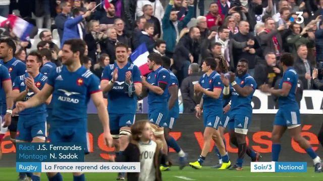 Tournoi des VI Nations : le XV de France se défait des rivaux anglais