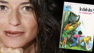 """Karine Tuil, auteur de """"L'invention de nos vies"""" (Grasset)  (Culturebox avec VILLARD/SIPA)"""