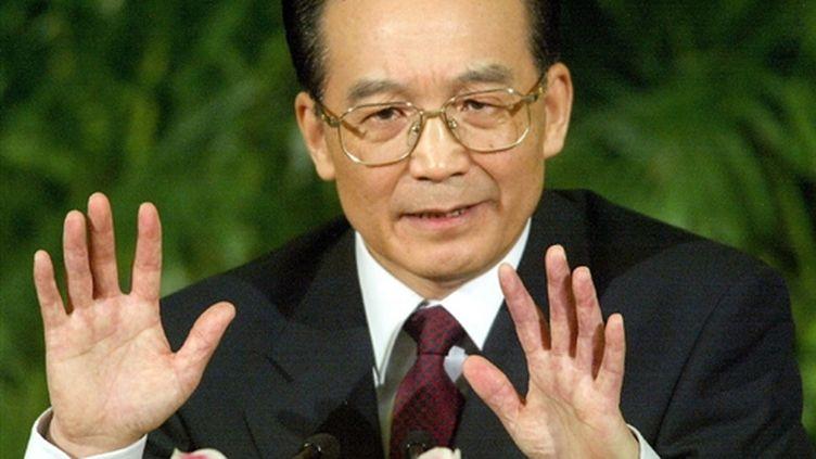 Le Premier ministre chinois, Wen Jiabao (mars 2003) (© AFP/GOH CHAI HIN)
