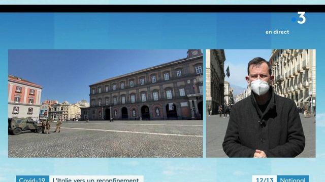Covid-19 : l'Italie se prépare à un reconfinement national
