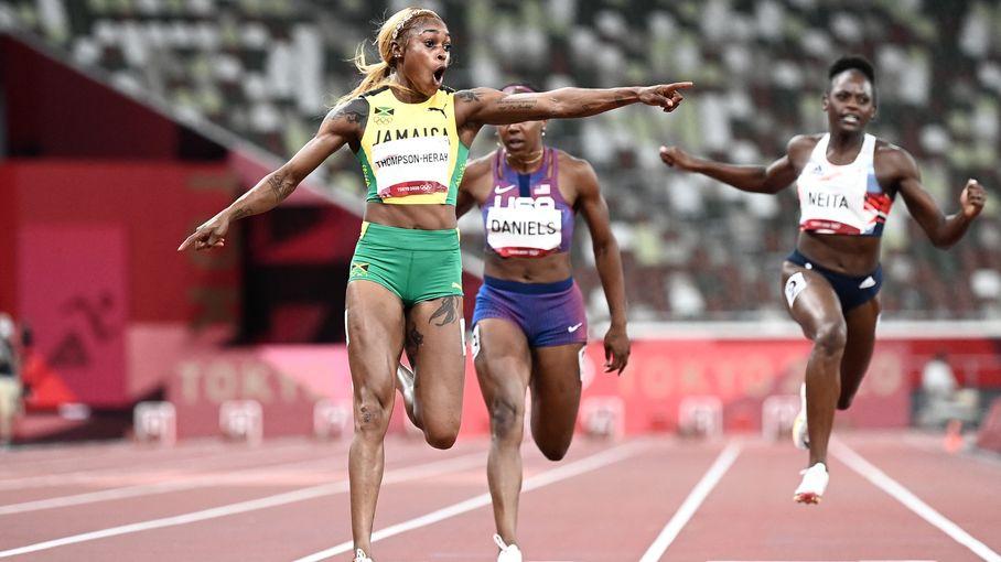 JO 2021 - Athlétisme : Elaine Thompson-Herah conserve son titre sur 100 m avec le 2e chrono de l'histoire, la Jamaïque s'offre un triplé