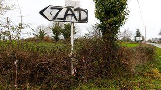 La zone d'aménagement différé sur quatre communes dont Notre-Dame-des-Landes est devenue une zone à défendre. (MAXPPP)