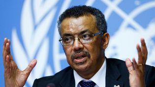 L'Ethiopien Tedros Adhanom Ghebreyesus élu mardi à la tête de l'OMS (Reuters/ Denis Balibouse)