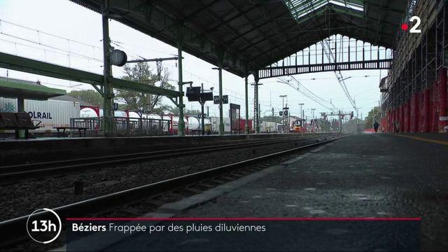 Intempéries : 300 millimètres de pluie à Béziers