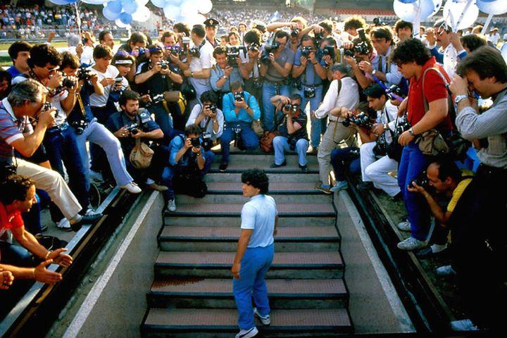 """Image du """"Diago Maradona"""" de Asif Kapadia. (M2R Films)"""