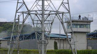 La prison de Guayaquil (Equateur), le 23 février 2021. (MARCOS PIN MENDEZ / AFP)