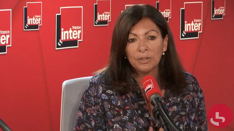 La maire de Paris Anne Hidalgo était l'invitée de 8h20 sur France Inter lundi 23 septembre 2019. (FRANCE INTER / RADIOFRANCE)