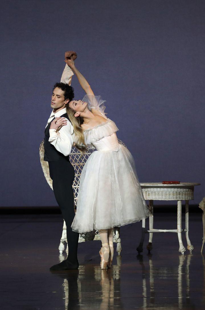 Eleonora Abbagnato Stéphane Bullion  (Svetlana Loboff / Opéra national de Paris)