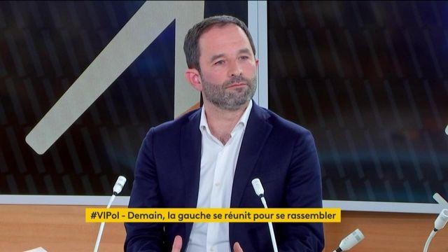 """""""Pour que la gauche soit au second tour en 2022, il faut qu'il y ait qu'un(e) seul(e) candidat(e)"""" affirme Benoît Hamon"""