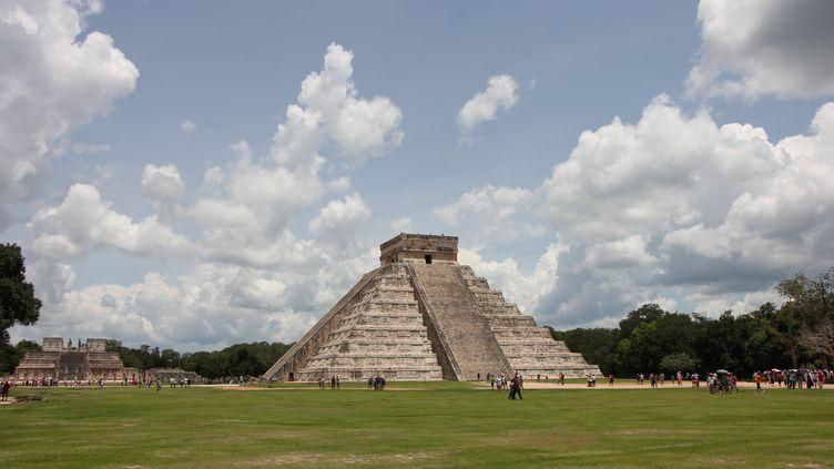 La pyramide de Kukulcan, à Chichen Itza, au Mexique. (PEDRO RODRIGUEZ / NOTIMEX / AFP)