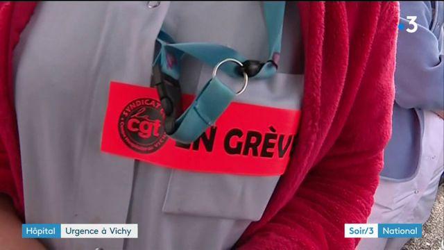 Vichy : les urgences de l'hôpital au bord de la rupture
